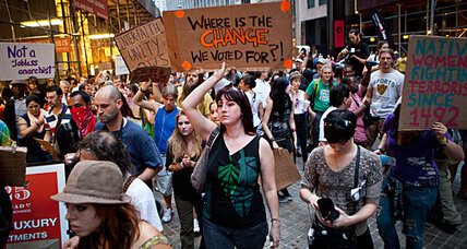 Does 'Occupy Wall Street' have leaders? Does it need any?
