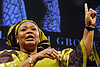 Nobel winner Leymah Gbowee speaks out on peace, women, and leadership
