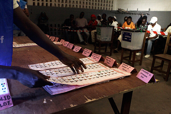 Image result for voters liberia