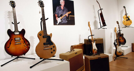 Richard Gere guitar collection fetches $1M in NYC