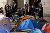 Occupy London protesters dig in with tents, large pots of soup