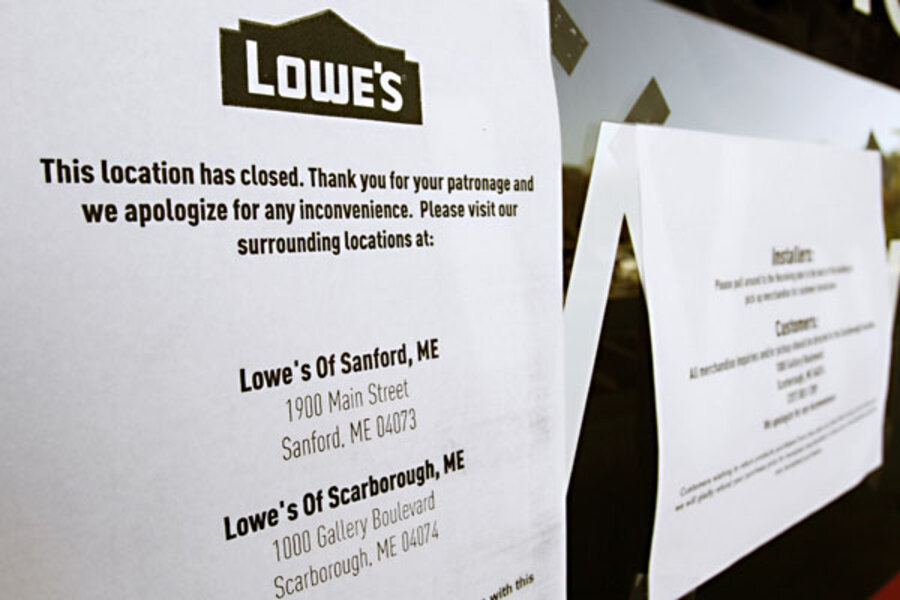 Lowe S Closing Stores Is Yours On The List Csmonitor Com