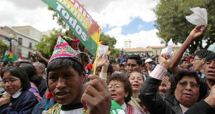 After 250-mile protest march, indigenous reach Bolivian capital to face president