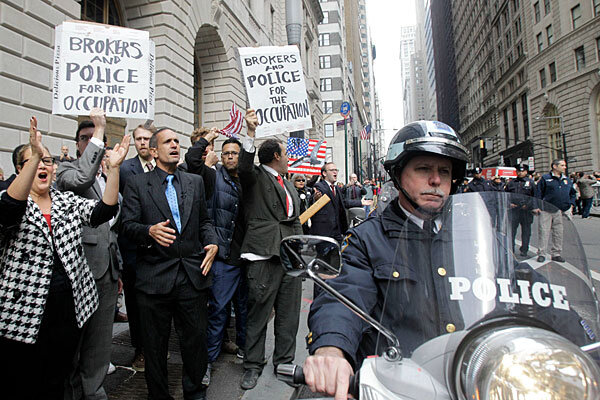 Map Of USA Occupy Wall Street Protest Sites From The Daily Kos - Occupy wall street us map