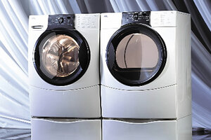 a kenmore washer and dryer from sears if you really want to save money on your energy bill doing laundry turn down your water heater