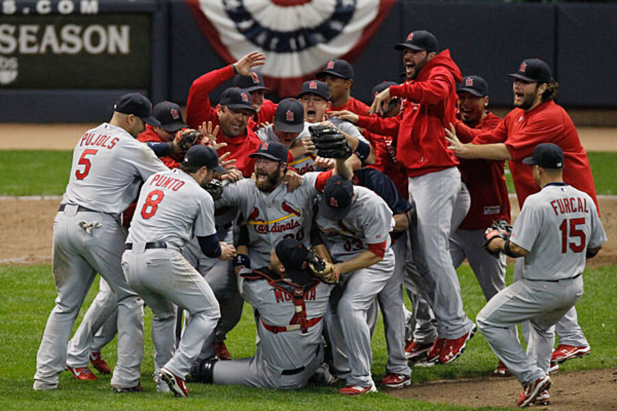 St Louis Cardinals Inside The Cards Wild Ride To The