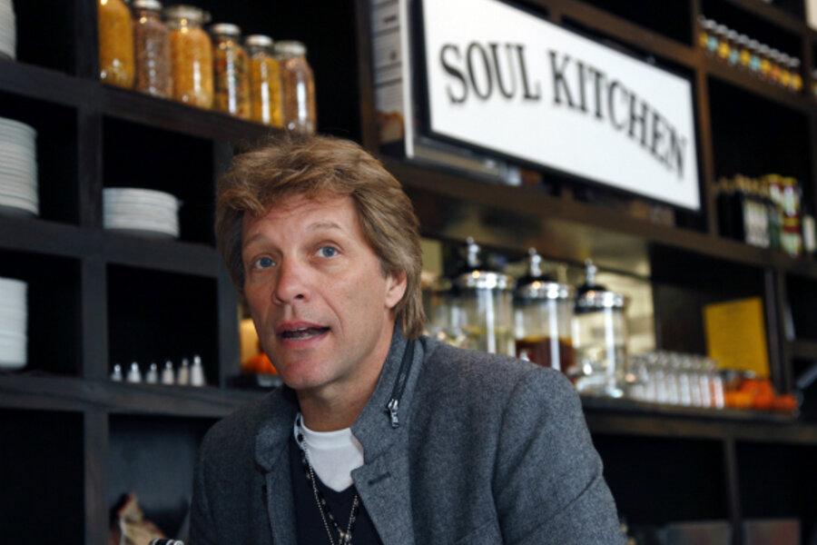 Jon Bon Jovi Opens A Pay What You Can Soul Kitchen