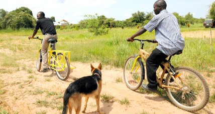 Bamboo bicycle business shoots up in a struggling African country