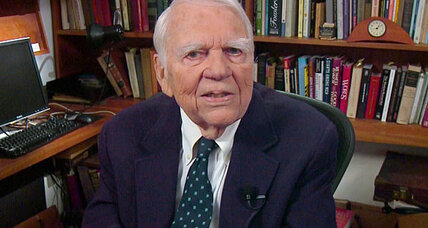 Andy Rooney: His last essay on 60 Minutes (video)
