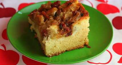 Apple bacon coffee cake