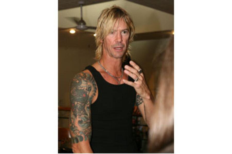 Former Guns N' Roses bassist Duff McKagan releases new book