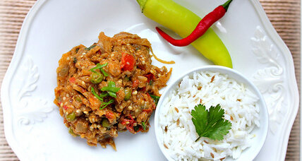 Meatless Monday: Punjabi eggplant curry
