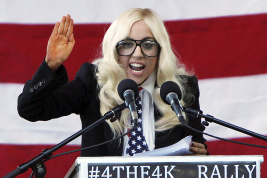 Born This Way foundation launched by Lady Gaga, MacArthur