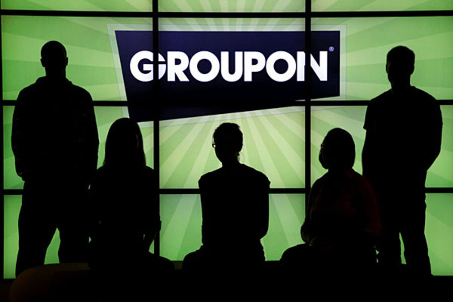Groupon Ipo Sets Market Value At 127 Billion Csmonitor