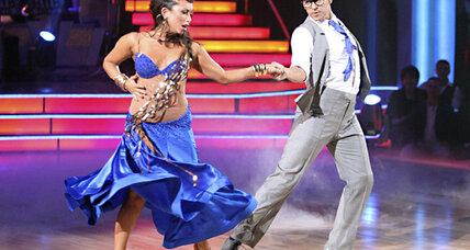 Hope Solo is out on DWTS. Rob Kardashian shines.