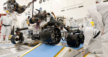 Mars rover gets 'engine' upgrade: Curiosity fueled by nuclear power