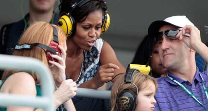 Michelle Obama booed. Has that happened to first ladies before?