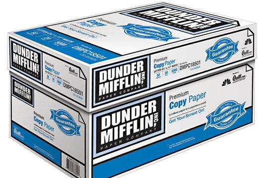 dunder mifflin copy paper