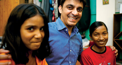 Kuku Arora set out to help one child in India. Now dozens call him 'father.'