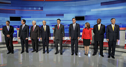 Who said that? Match the Republican candidates with the quotes.