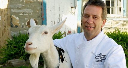A goat is a chef's best friend