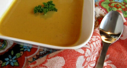 Meatless Monday: Curried sweet potato soup