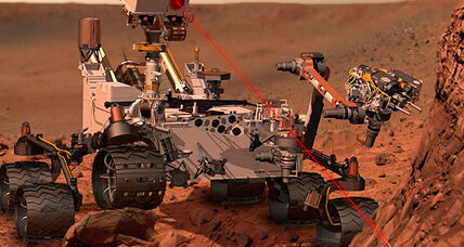 Why does Mars Curiosity rover have a laser raygun?