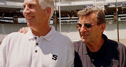 Penn State scandal: Jerry Sandusky denies child sex abuse charges