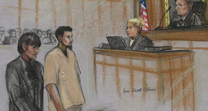 'Model plane' bomber, back in court, is 'classic case' of an Al Qaeda recruit