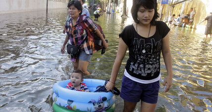 Thailand floods pale beside five worst floods in history