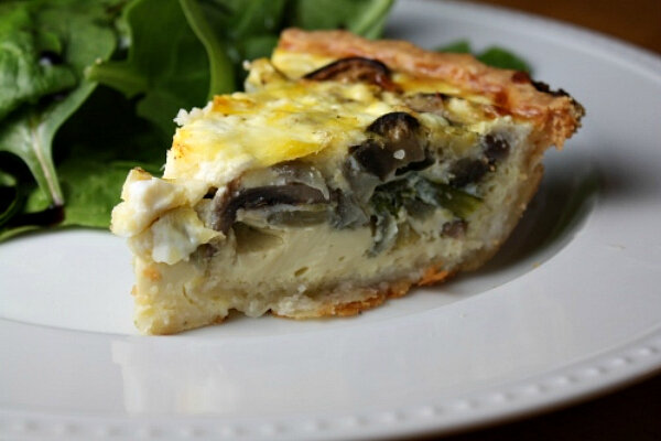 ... Monday: Roasted vegetable and goat cheese quiche - CSMonitor.com