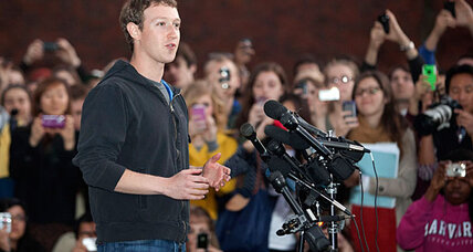 Mark Zuckerberg says Facebook will double in size every year (video)