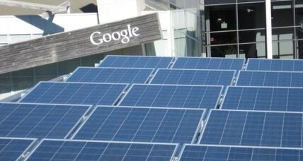 Google invests $94 million in California solar farms