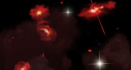 Strange red galaxies a 'missing link' in history of the universe?