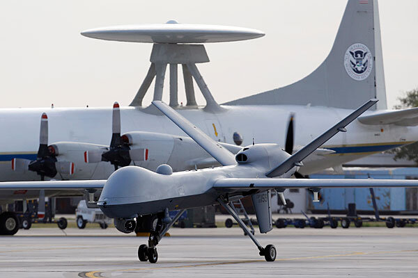 A Predator B Unmanned Aircraft Taxis At The Naval Air Station In November Corpus Christi Texas RQ 170 Sentinel Drone Went Missing Over Afghanistan