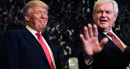 Donald Trump and Newt Gingrich devise 'Apprentice'-style plan for poor kids (VIDEO)
