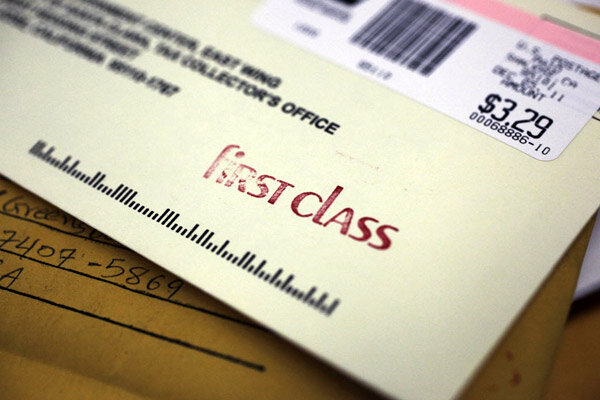 first class letter postage usps to class mail centers in ga and 21721 | 1206 mail