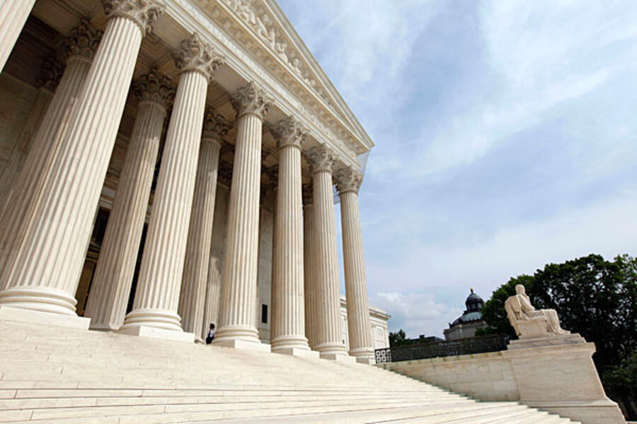 Us Supreme Court To Weigh Level Of >> Can Congress Force Supreme Court To Let In Cameras Csmonitor Com