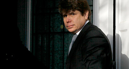 Harsh sentence for Rod Blagojevich: Did his fight reflexes cause him harm? (VIDEO)