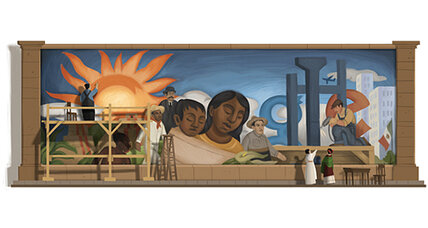 Diego Rivera, communist and Mexican icon, honored with Google Doodle