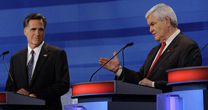 Republican debate: Gingrich likens himself to Ronald Reagan