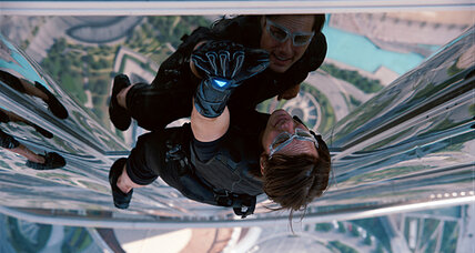 Tom Cruise reprises his role in 'Mission Impossible: Ghost Protocol': movie review