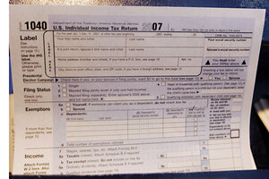 How much will charity help your tax bill? - CSMonitor.com
