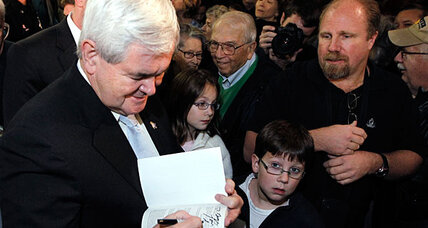 How Newt Gingrich won over the tea party
