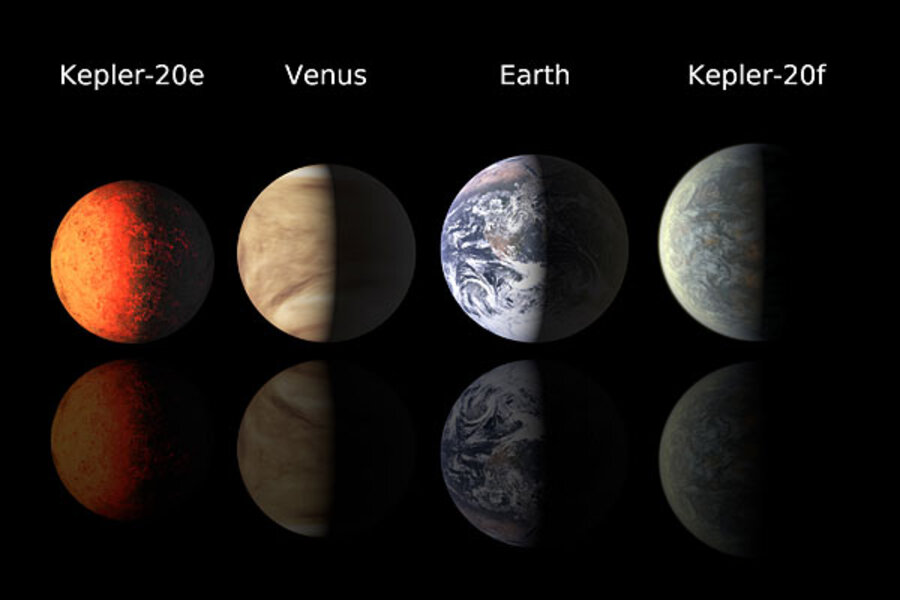 First Earth Size Planets Found Around Distant Star In A