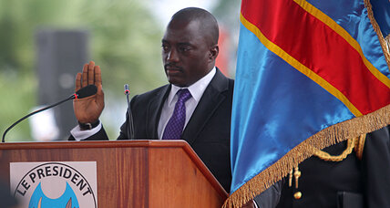 DR Congo election: Kabila sworn in as rival challenges his legitimacy