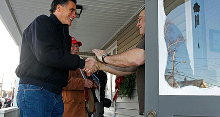 Mitt Romney bus tour: second chance at first impression in New Hampshire