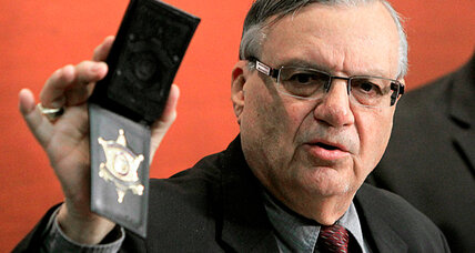 Is Sheriff Joe Arpaio using racial profiling to find illegal immigrants?