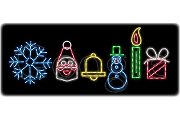Happy Holidays Six Symbols Of Christmas Google Style Csmonitor