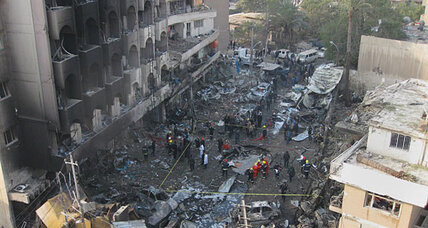 Al Qaeda in Iraq claims responsibility for Baghdad bombings